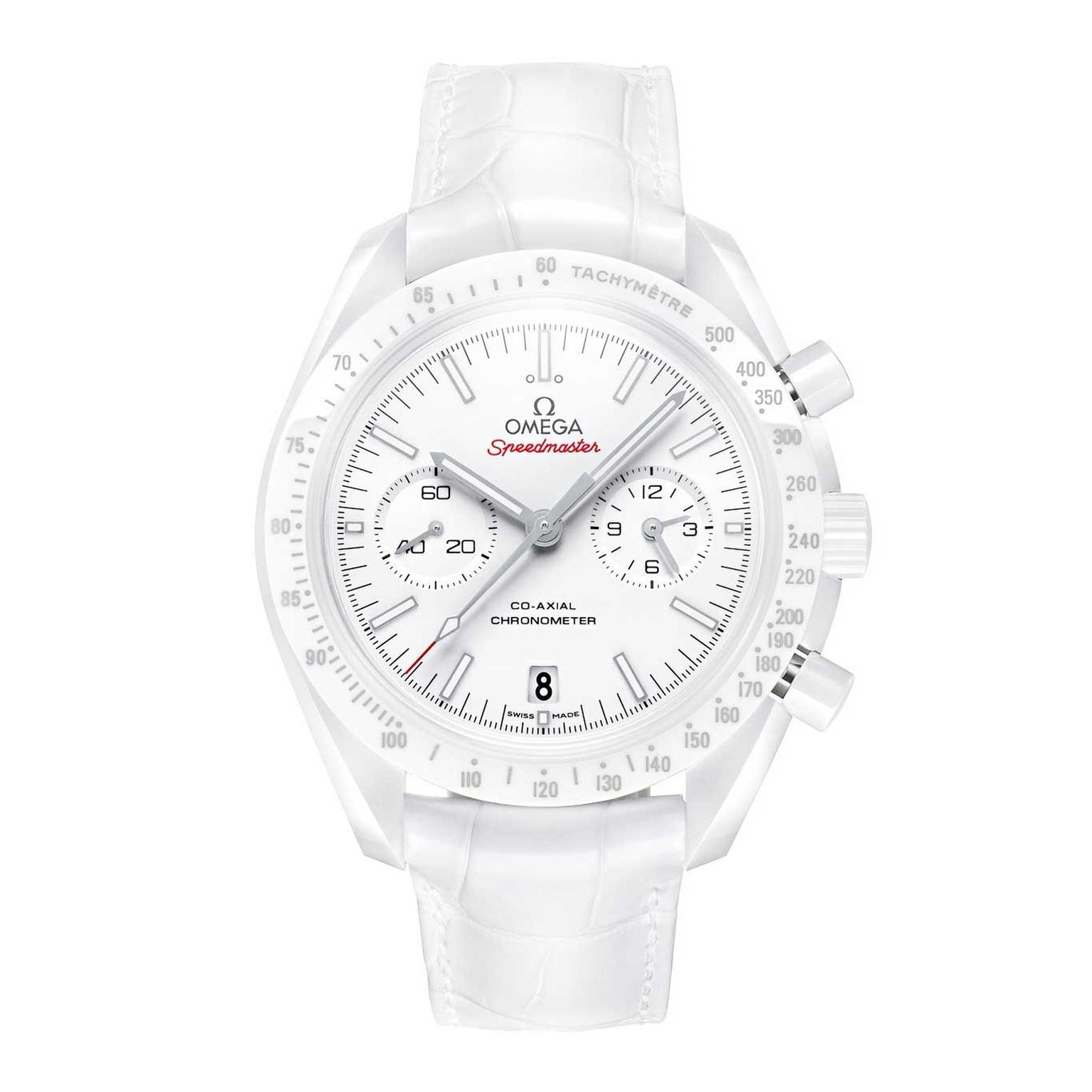 Omega Speedmaster Moonwatch White Side of the Moon watch