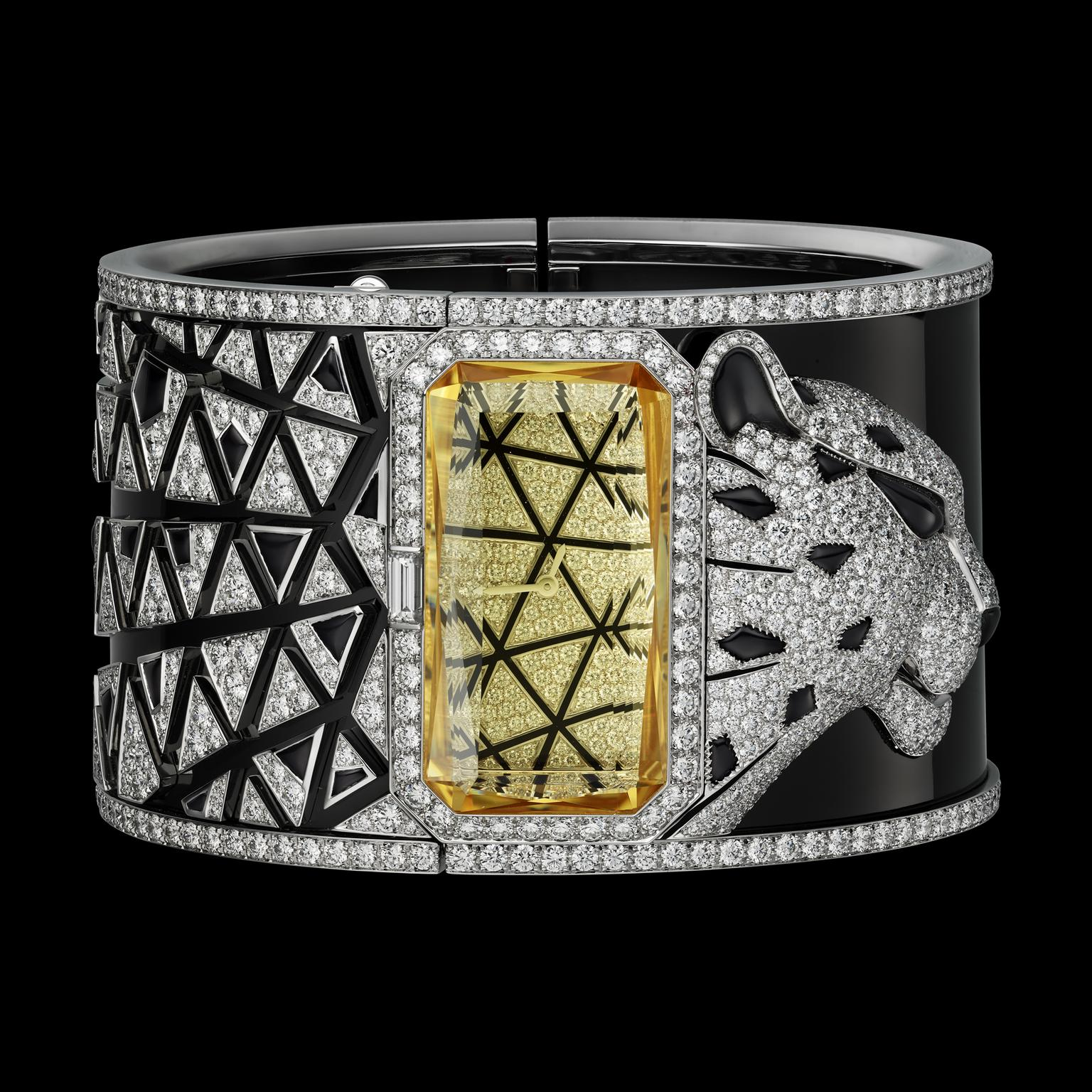Cartier Panthère Astrale cuff watch