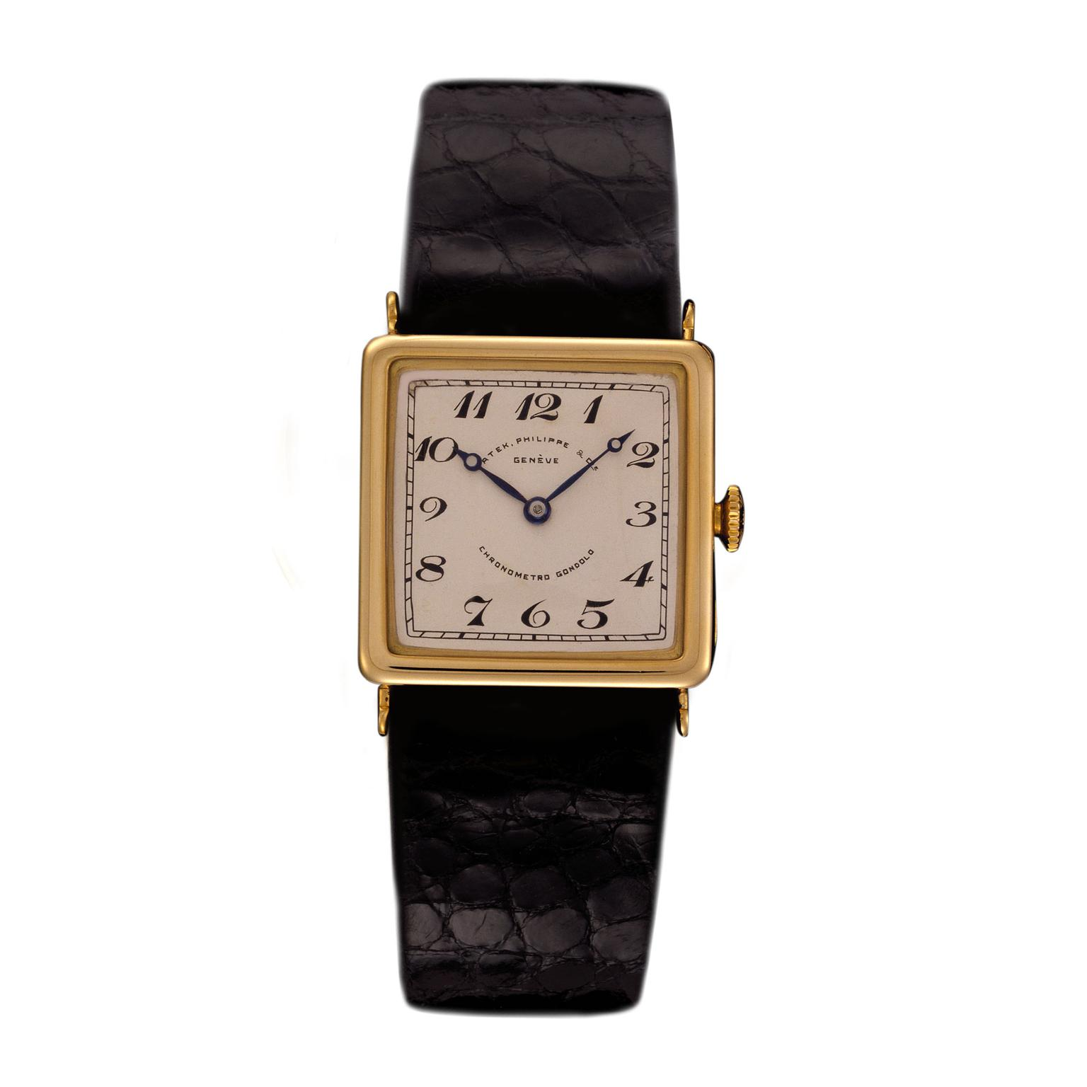Patek Philippe Square Gondolo watch