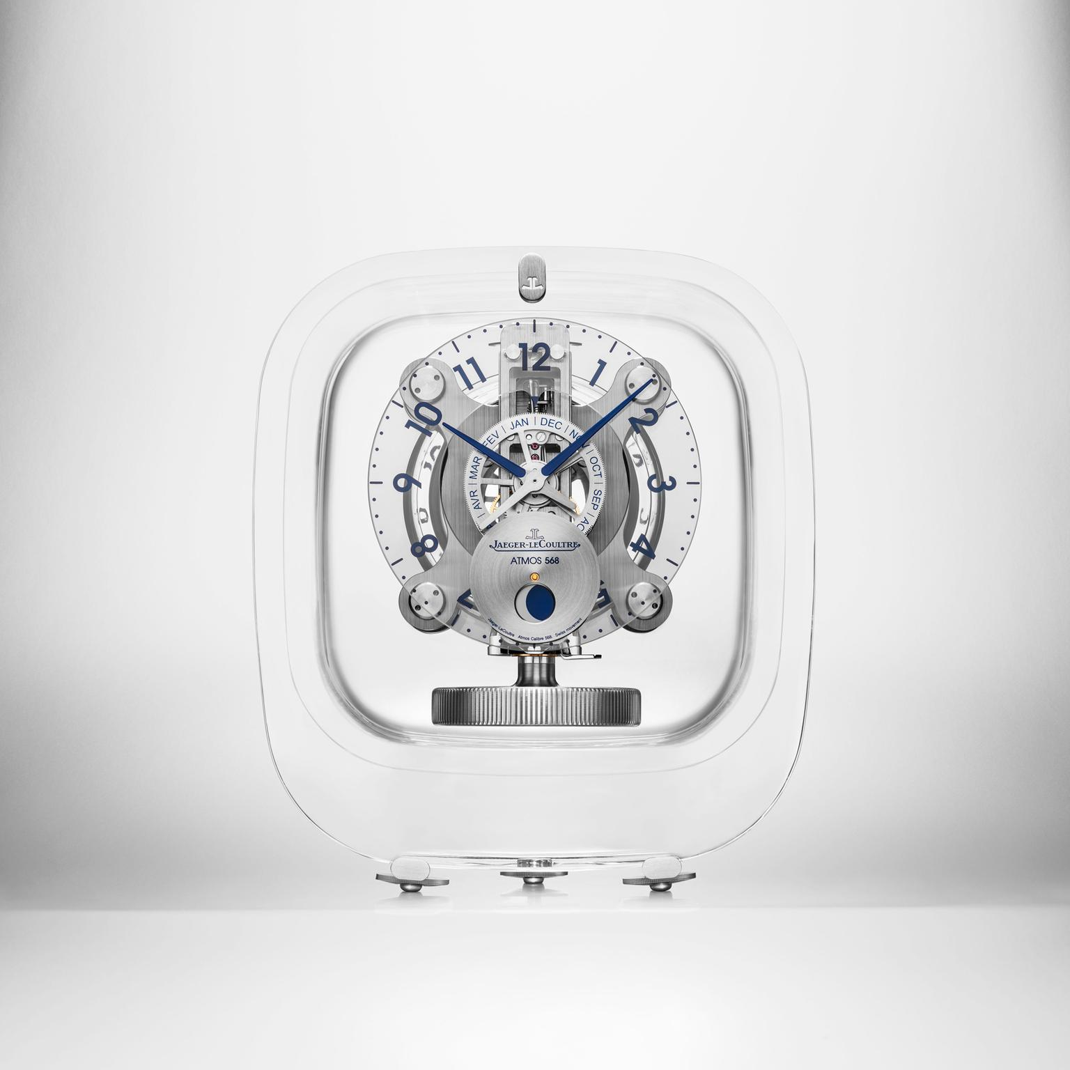 Jaeger-LeCoultre Atmos 568 clock by Marc Newson