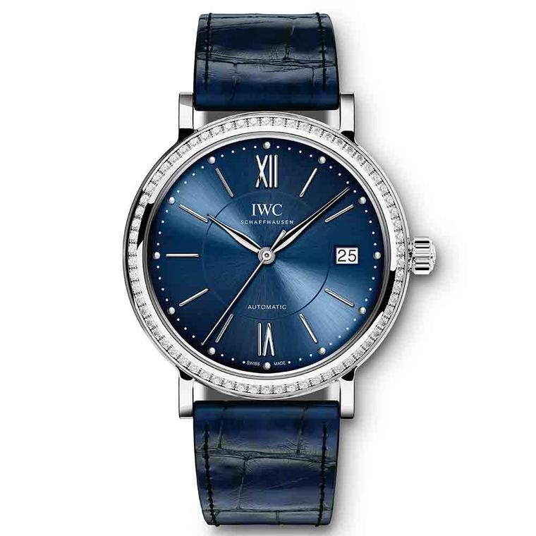 IWC Portofino Automatic watch with diamonds