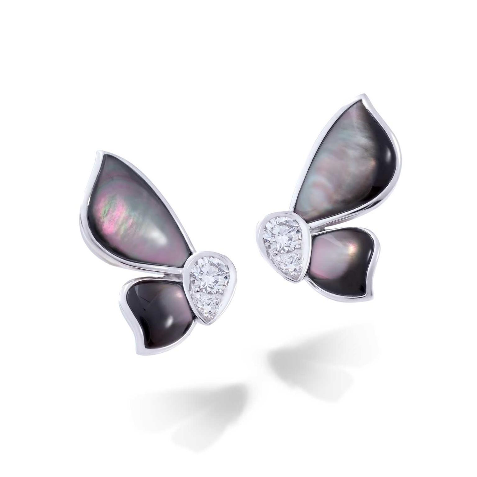 Stenzhorn Day and Night mother of pearl earrings