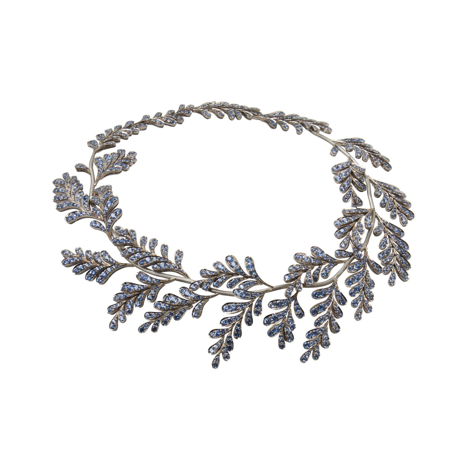 Ming Lampson Wisteria necklace