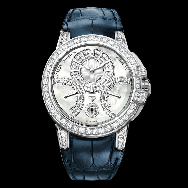 Harry Winston Ocean Biretrograde watch