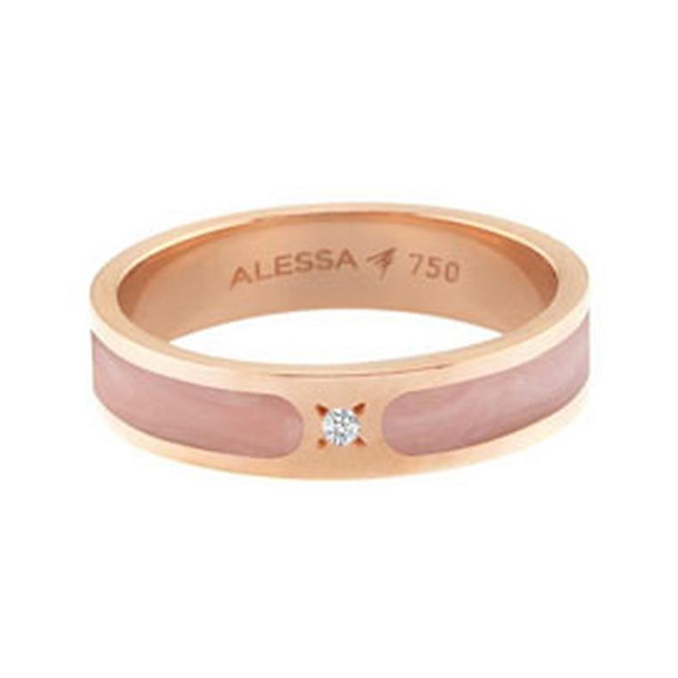 Alessa Jewelry Rose Gold ring
