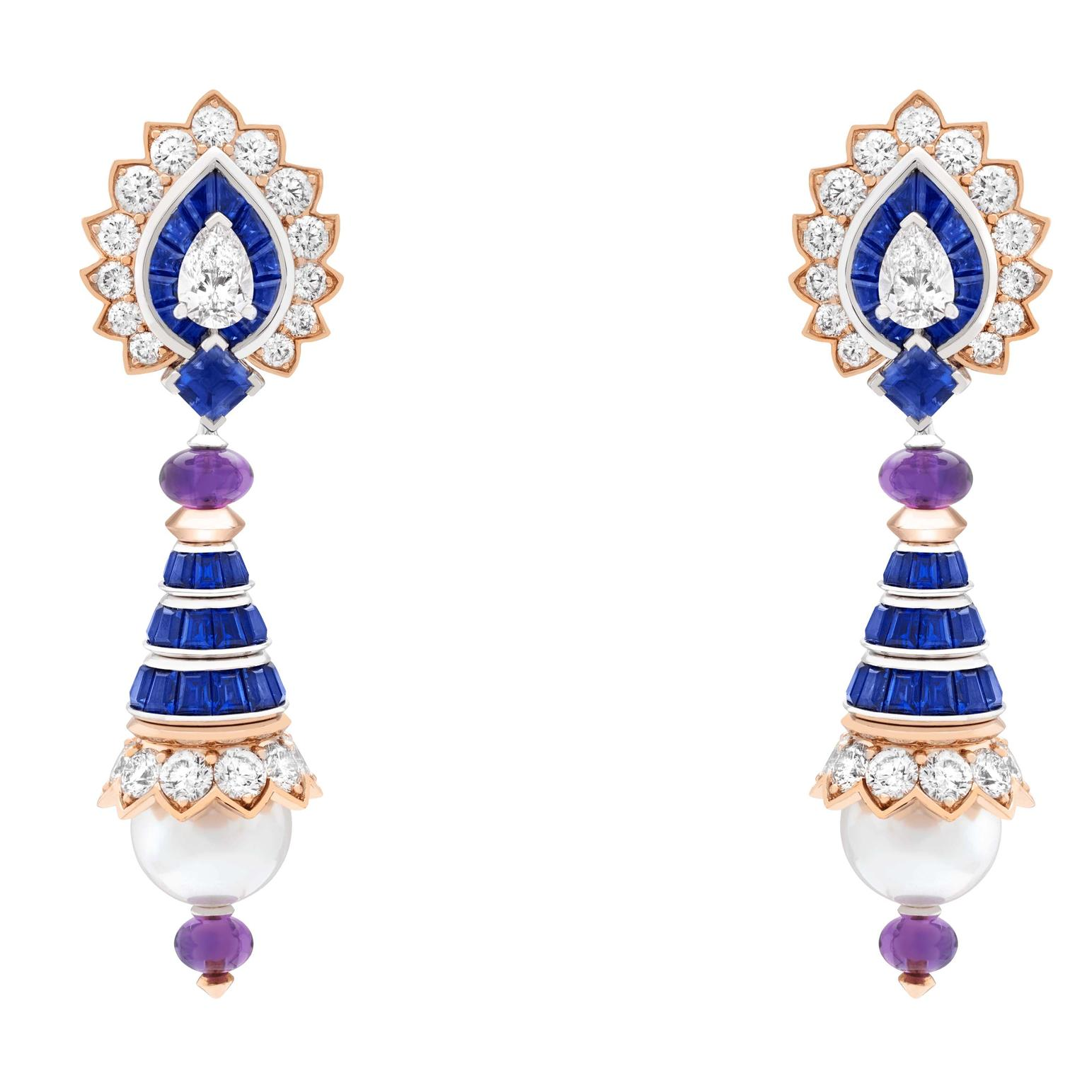 Van Cleef & Arpels Balletti earrings Romeo and Juliet jewels