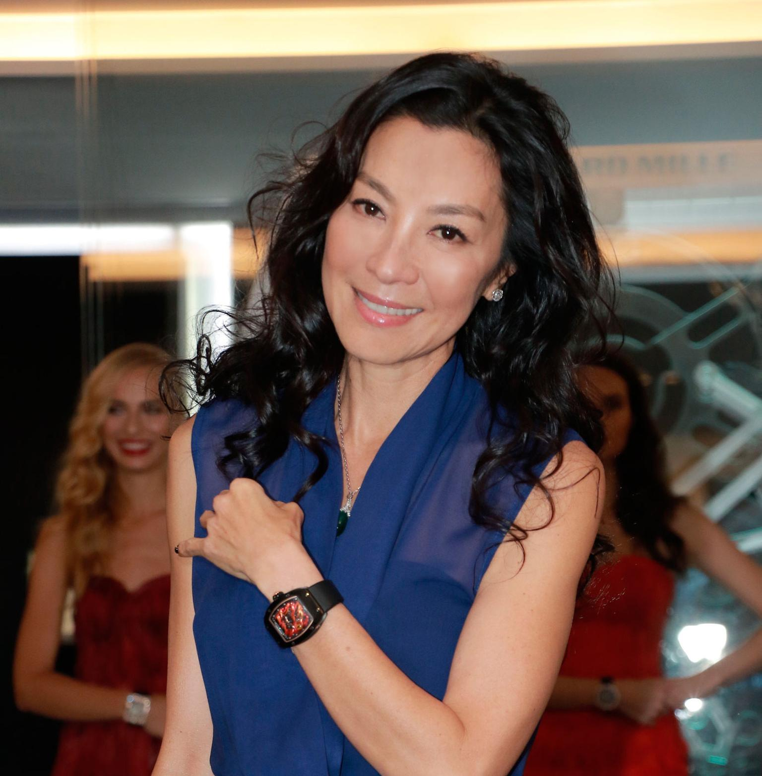 Michelle Yeoh wearing her Richard Mille watch