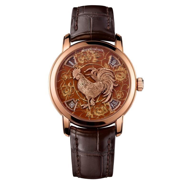 Métiers d'Art Year of the Rooster watch
