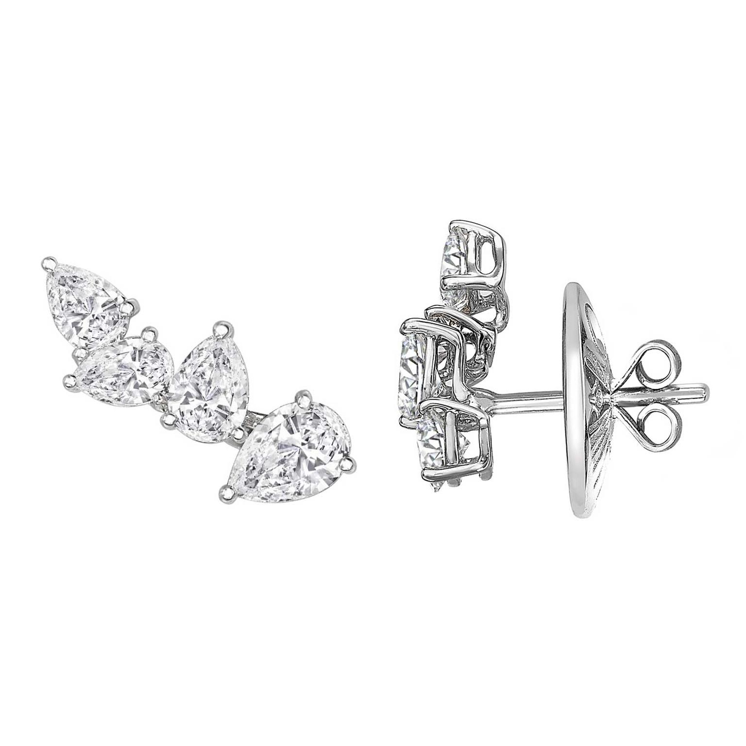 William & Son MYA diamond earrings