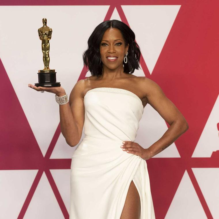 Regina King Chopard jewels Academy awards 2019