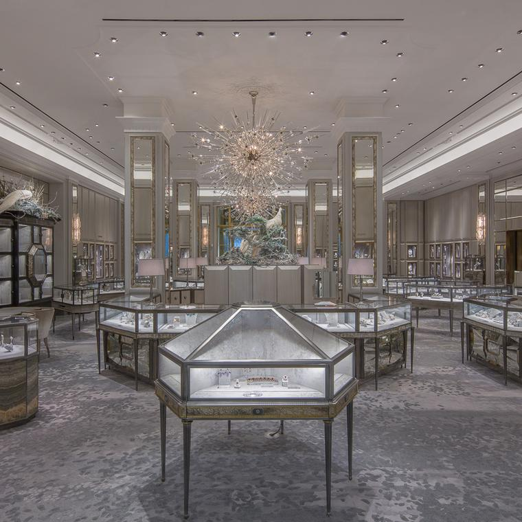 Bergdorf Goodman jewellery floor