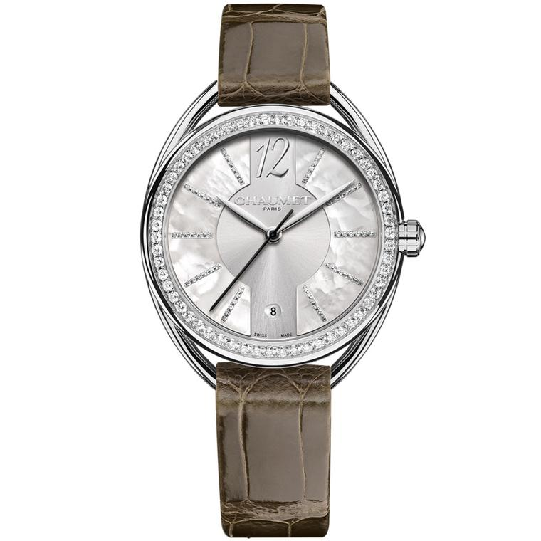 Chaumet Liens Lumière 33mm automatic watch in steel