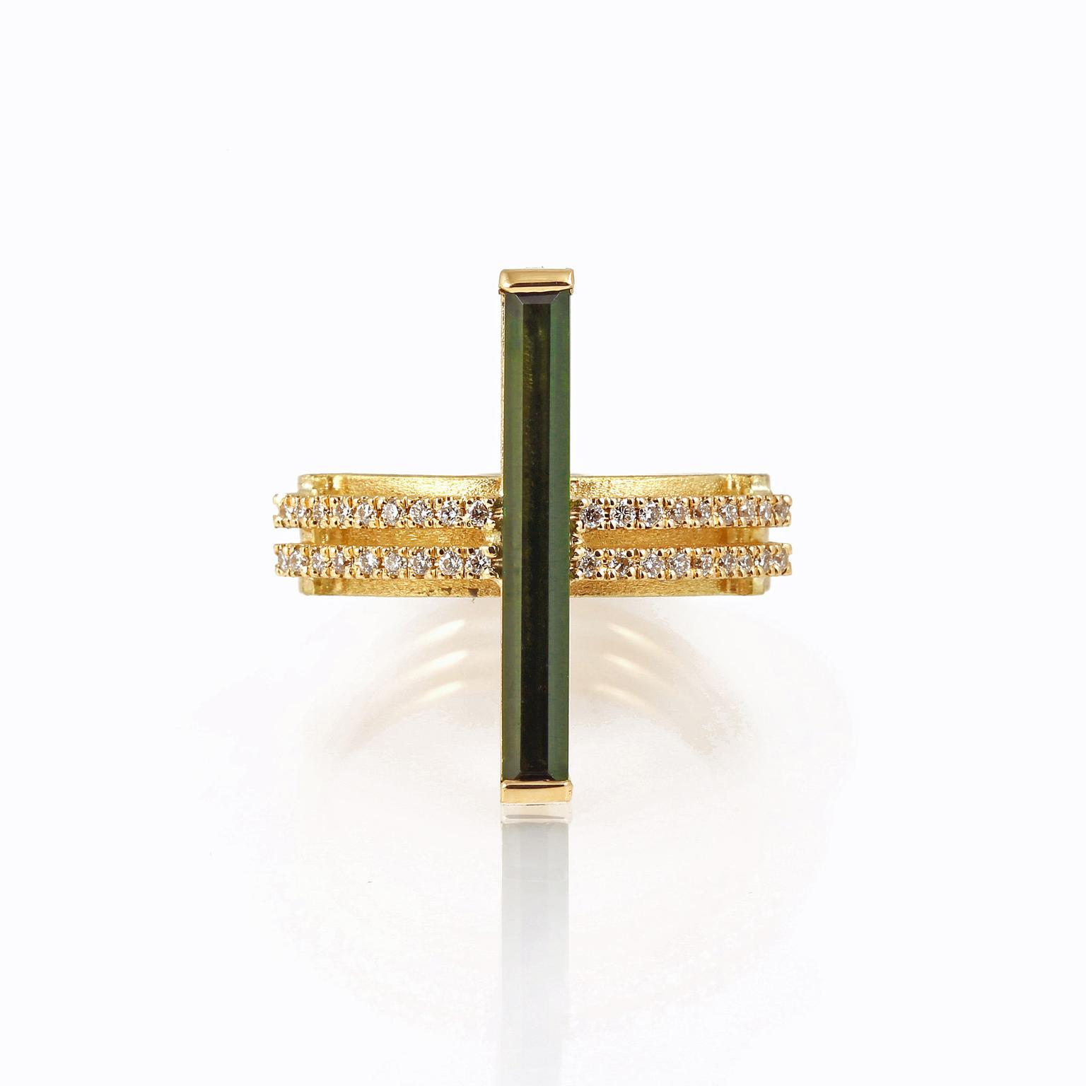 Shimell and Madden Arc collection ring