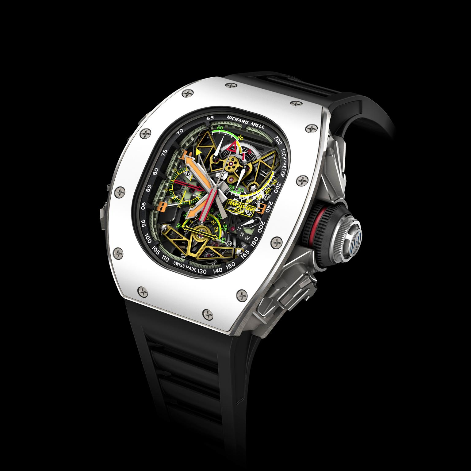 Richard Mille RM 50-02 ACJ Tourbillon Split Seconds Chronograph