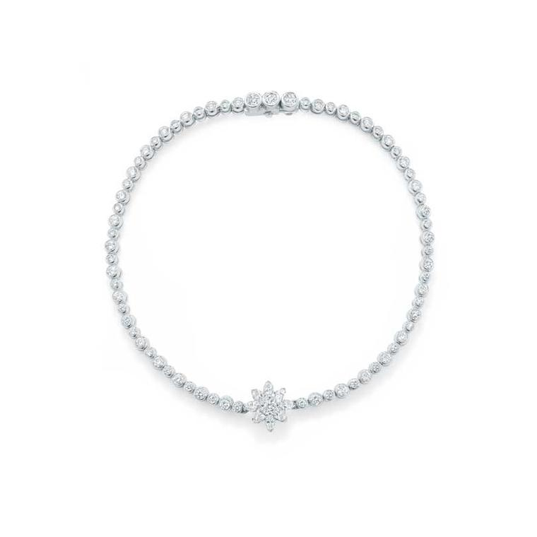 Mappin & Webb Aster diamond tennis bracelet - platinum