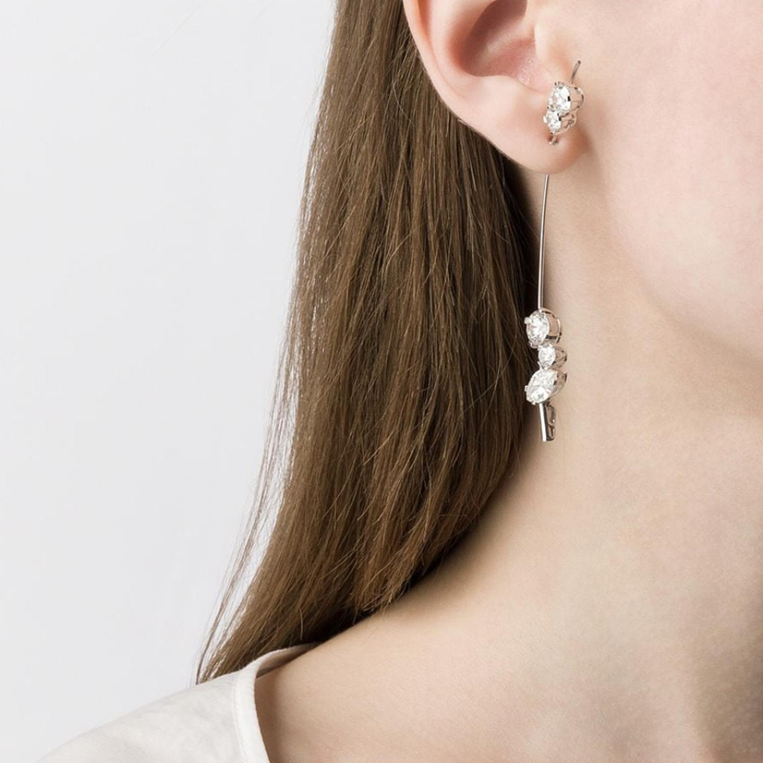 Earring by Sophie Bille Brahe on model