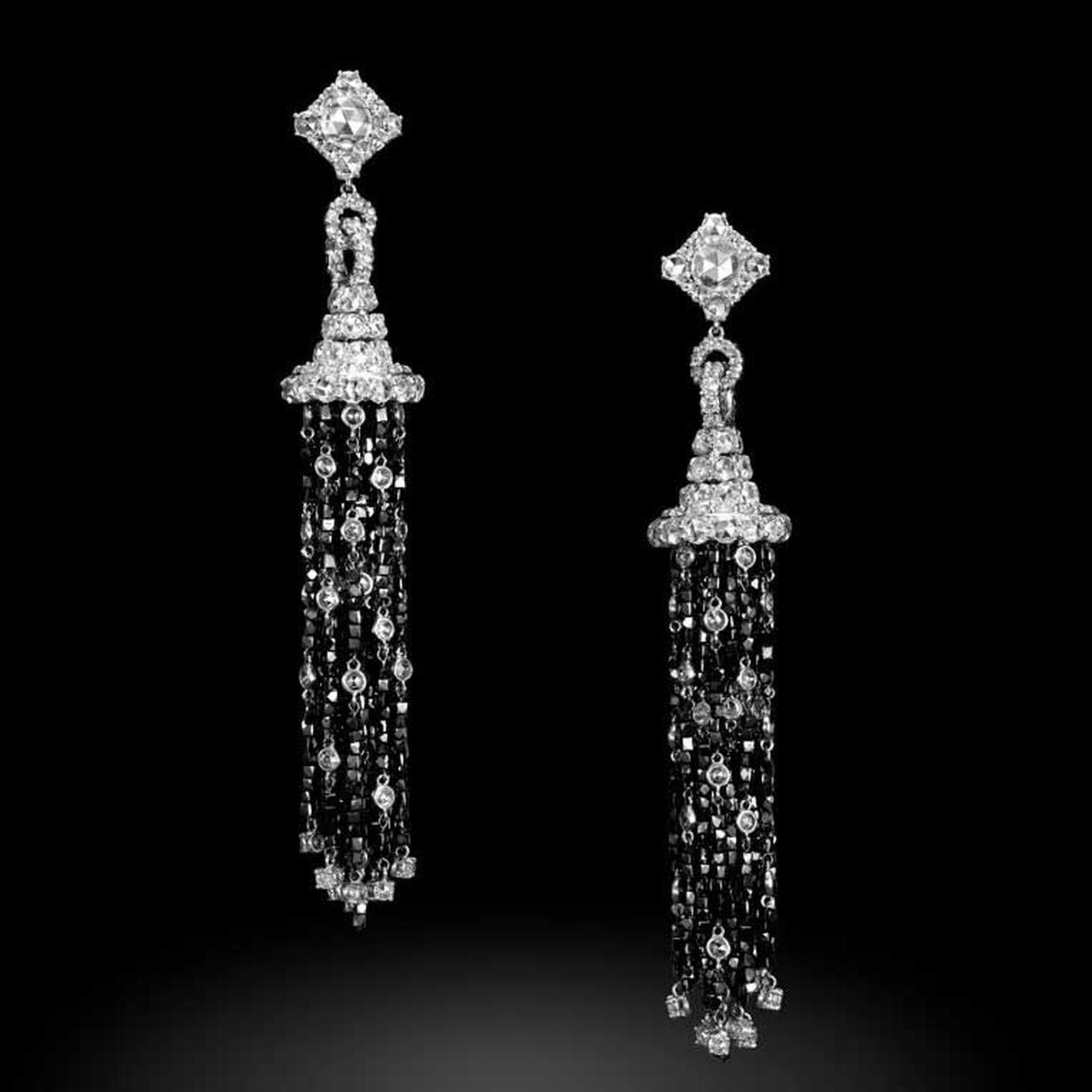 Carnet Midnight Glamour diamond earrings