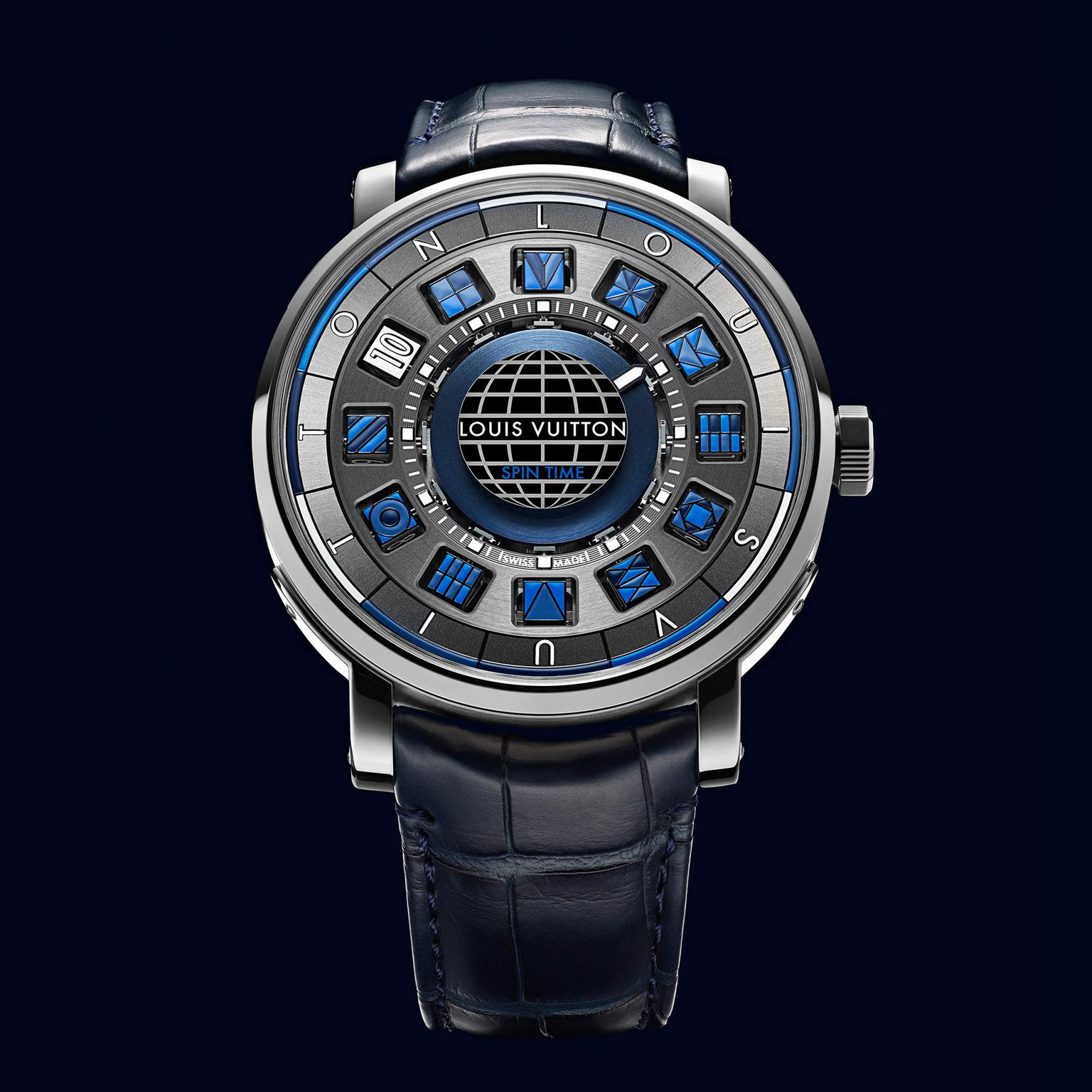 Louis Vuitton Escale Spin Time Blue watch