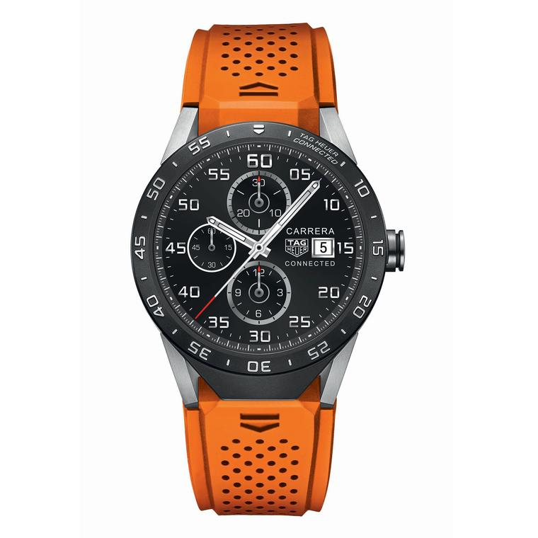 TAG Heuer Connected orange strap