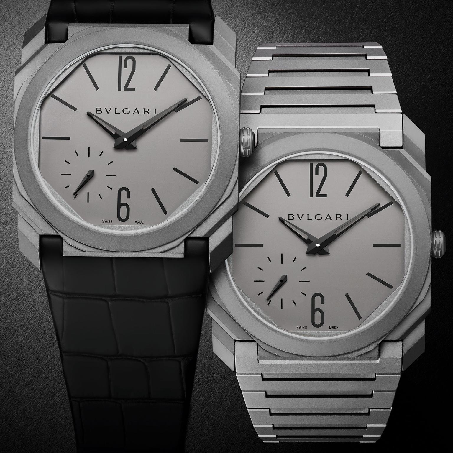 Bulgari Octo Finissimo Automatic watch in titanium