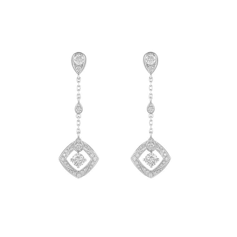 Chaumet Josephine earrings in white gold