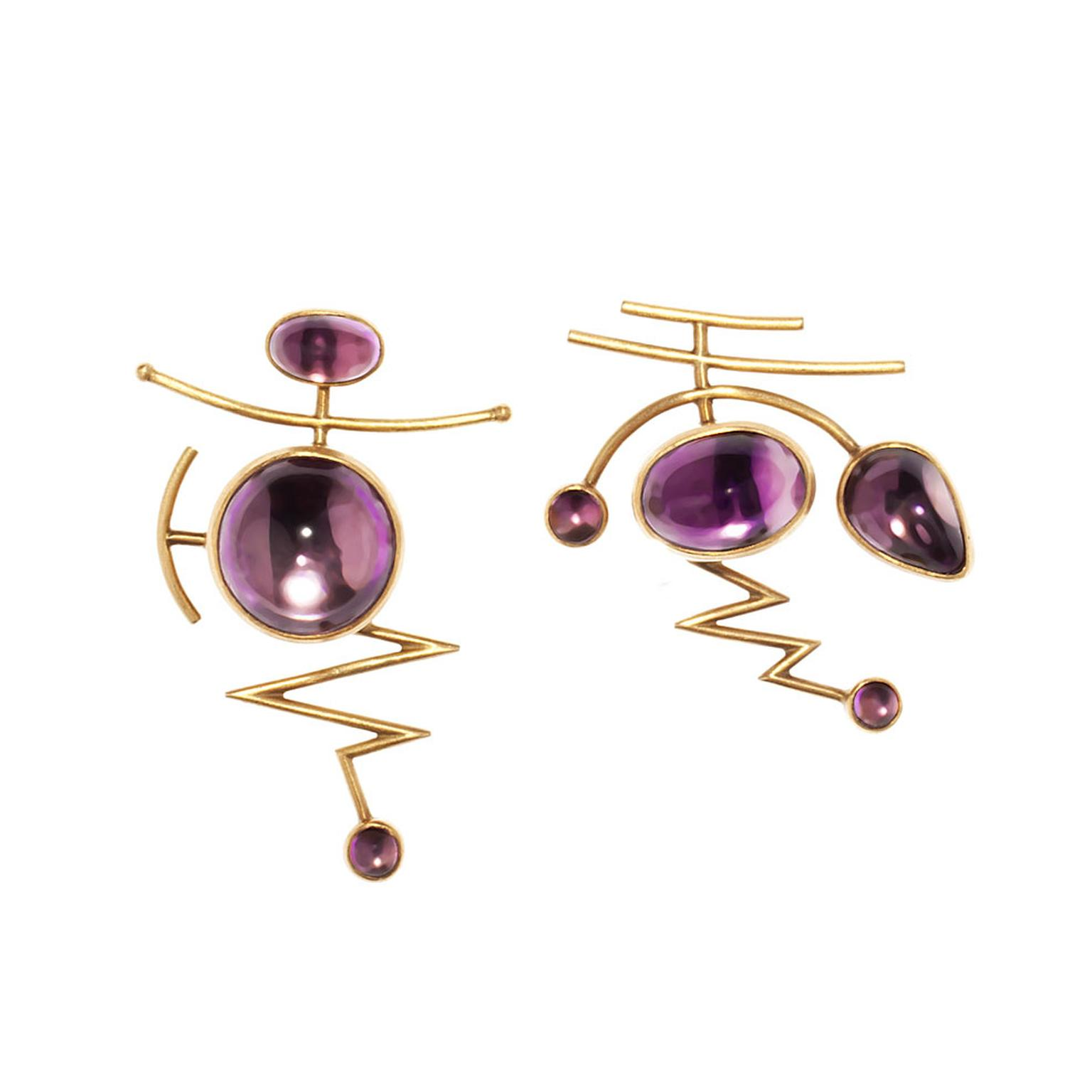 Wendy-Ramshaw-was-ahead-of-the-trends-in-1994-when-she-created-these-yellow-gold-and-amethyst-earrings