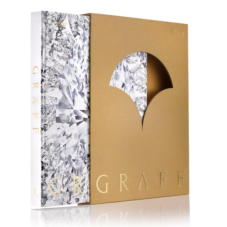Graff jewellery coffee table book with slipcase