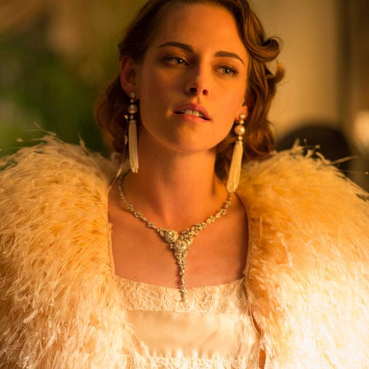 Kristen Stewart wears Chanel jewellery in Cafe Society