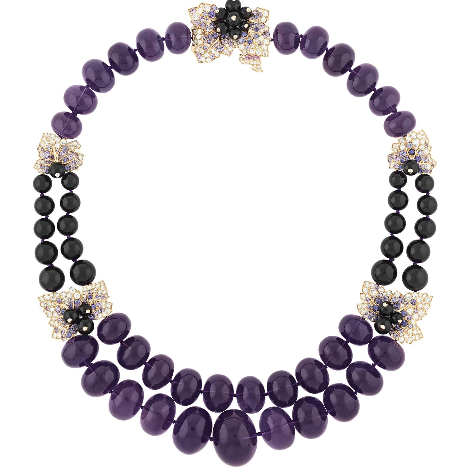 Van Cleef & Arpels Secret de Cassis amethyst necklace