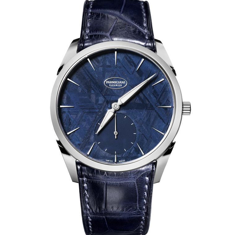 Parmigiani Tonda 1950 Meteorite watch blue