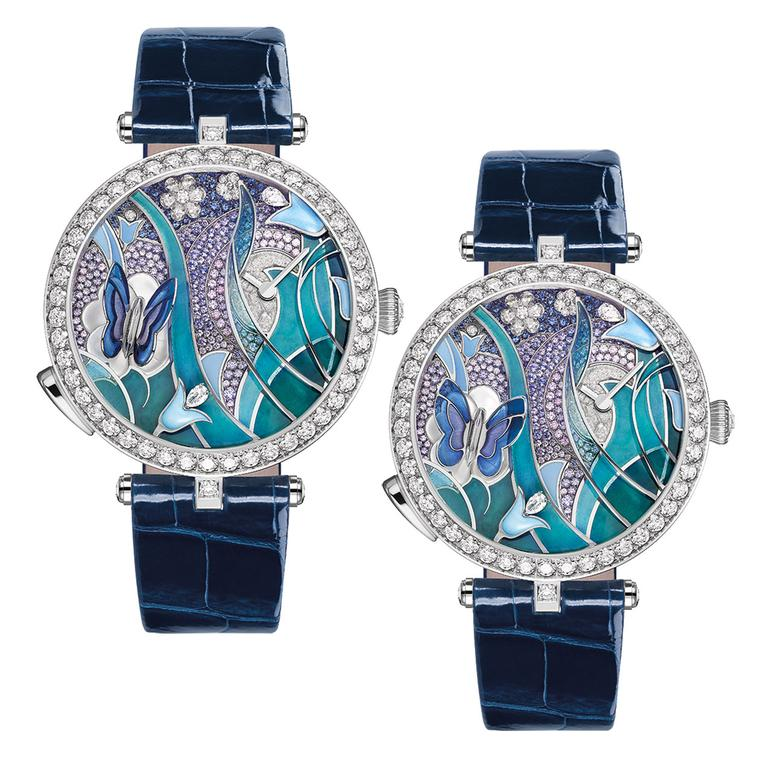 Lady Arpels Papillon Automate watch