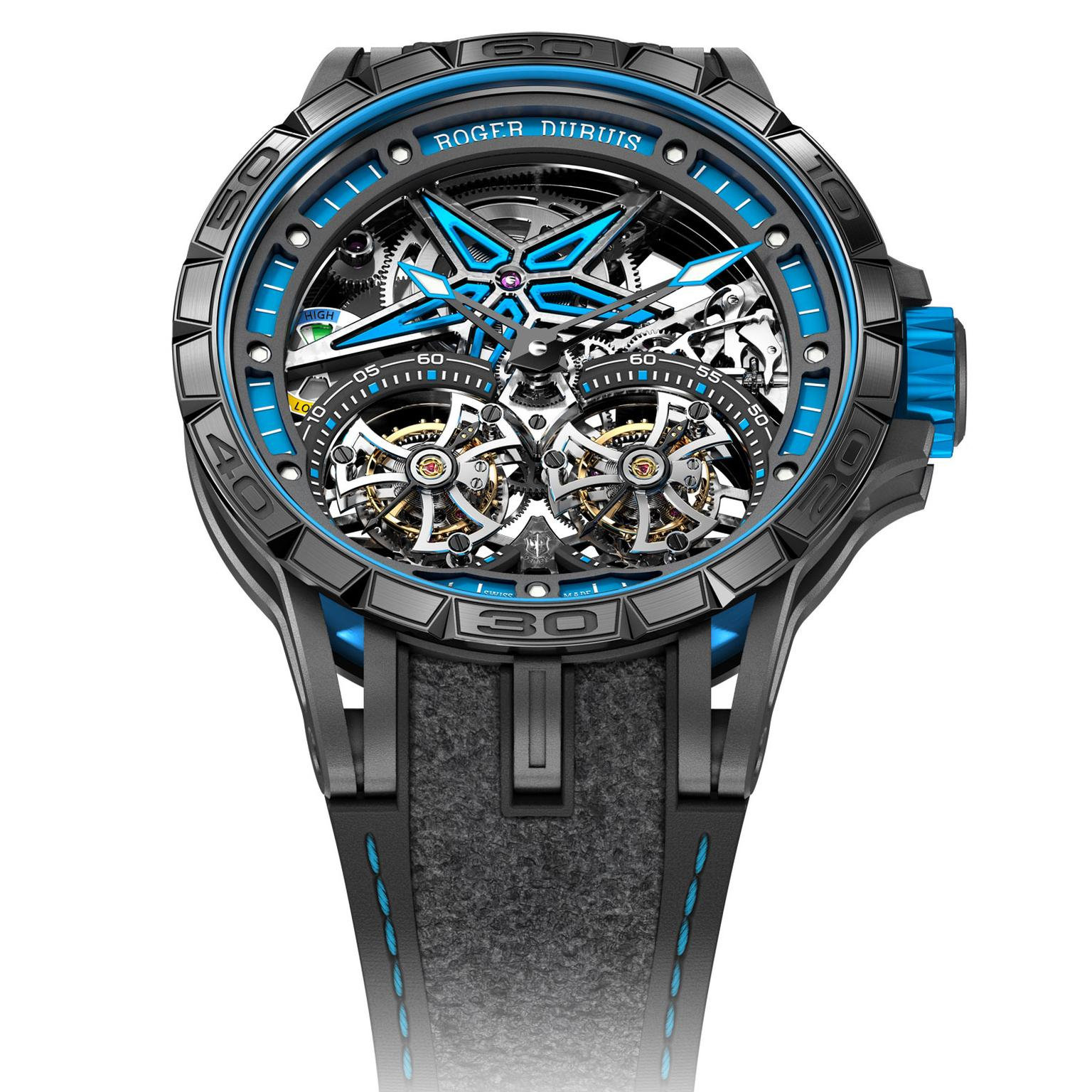 Roger Dubuis Excalibur Spider Pirelli - Double Flying Tourbillon