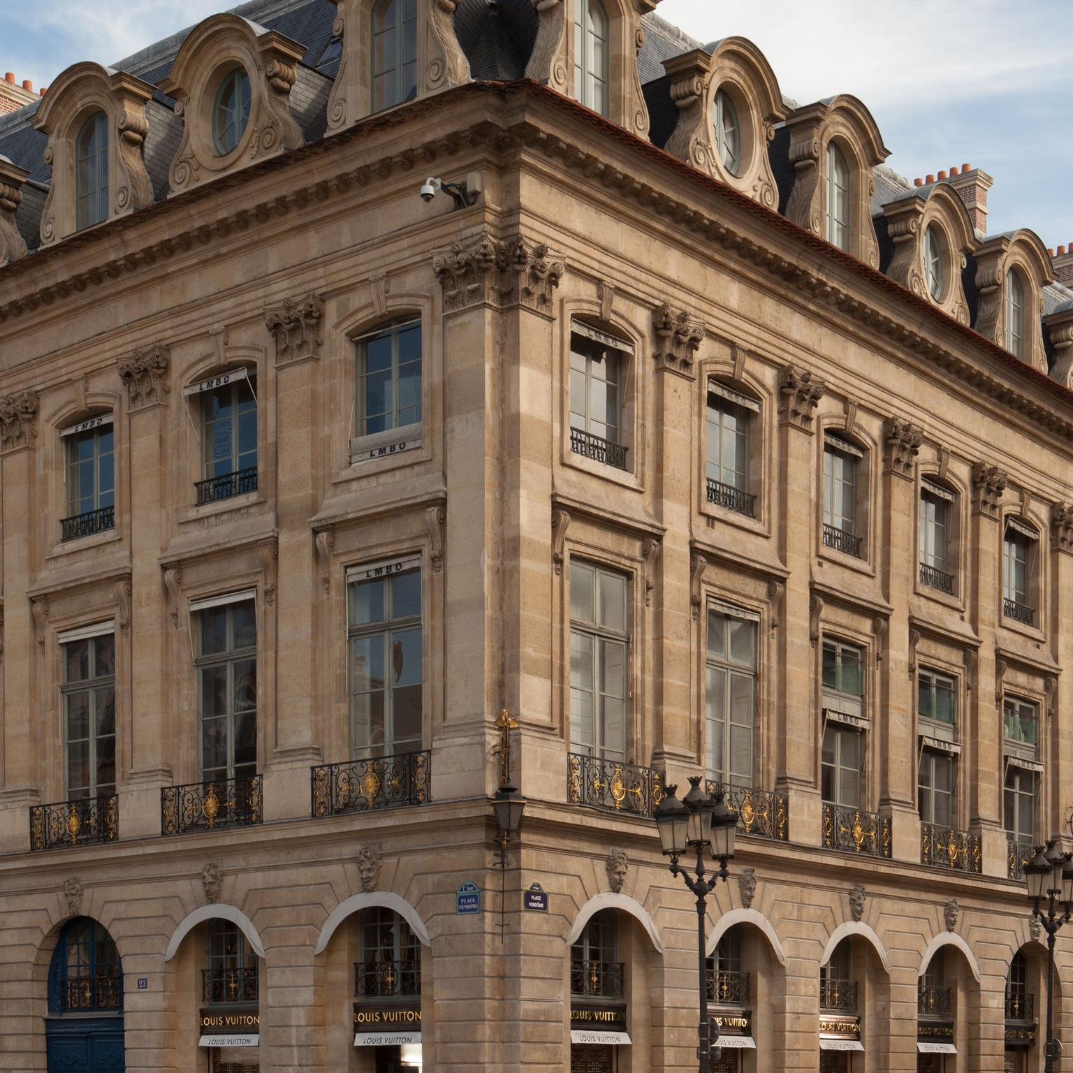 Louis Vuitton Paris Boutique exterior