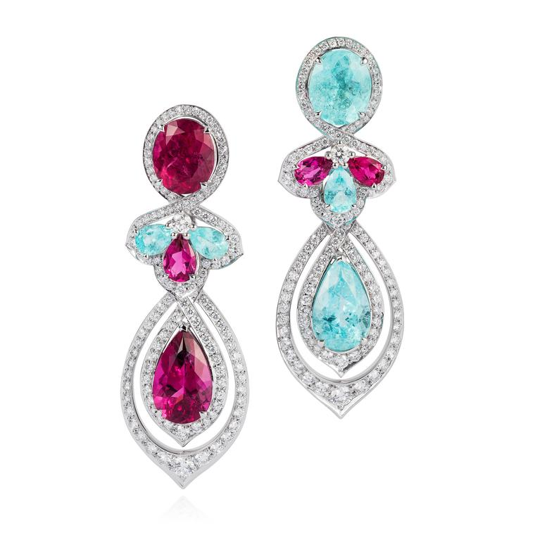 Around the world in luxury jewellery: Brazilian Paraiba tourmalines