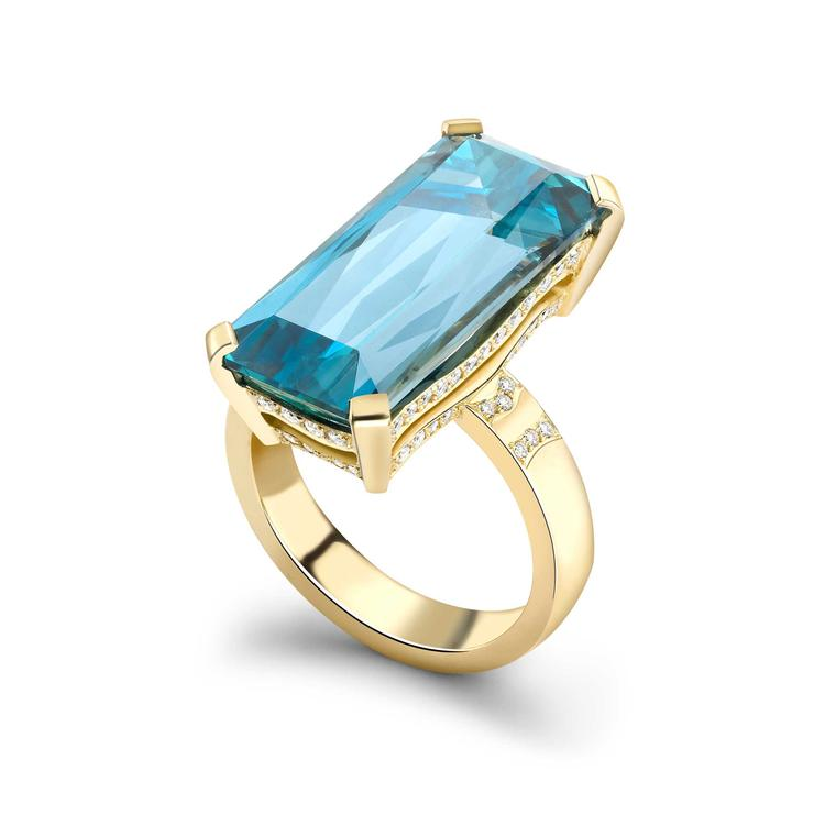 Top five coloured gemstones for a unique engagement ring