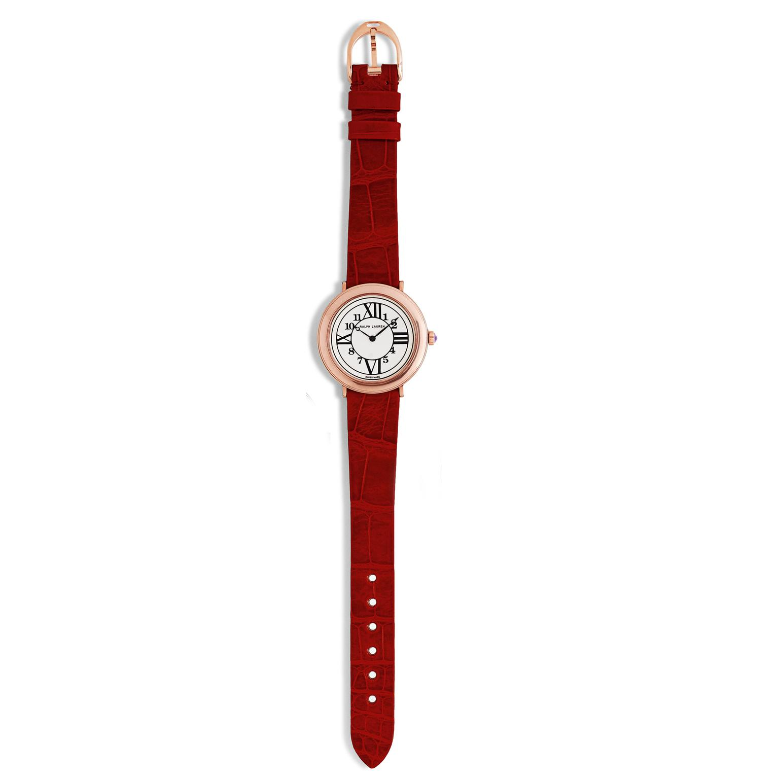 Ralph Lauren RL888 red strap