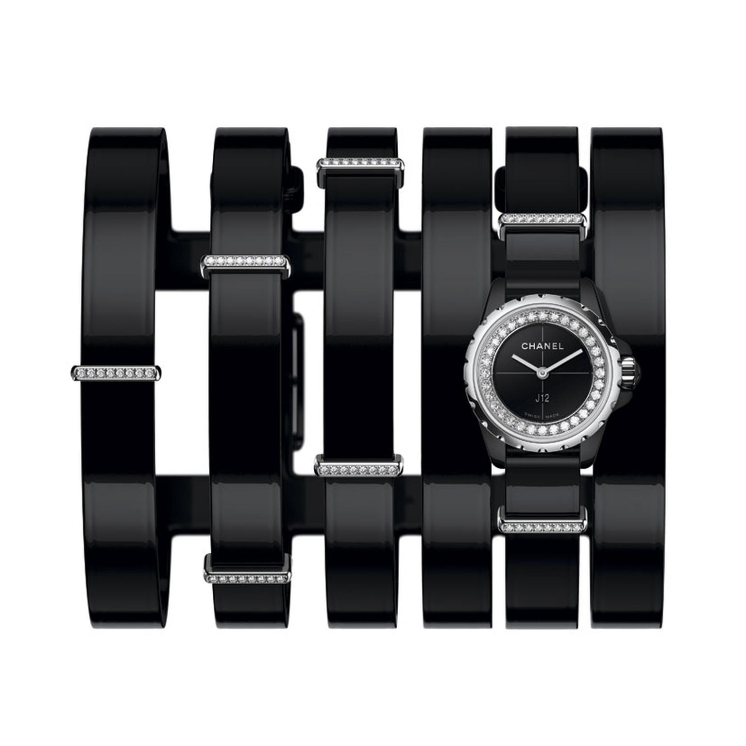Chanel J12 XS Large Cuff watch