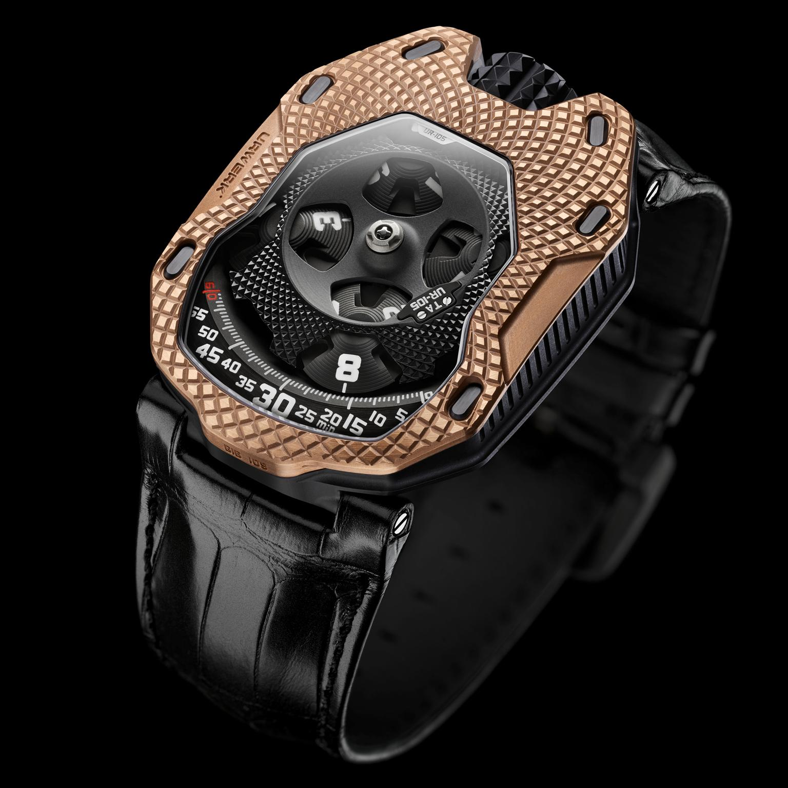 Urwerk UR-105 Raging Gold