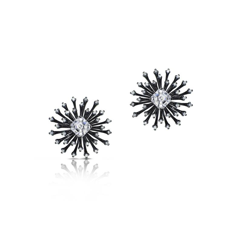 Fei Liu jewellery Starburst earrings