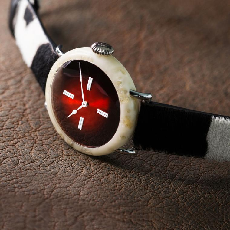 Mad as cheese: H. Moser's 100% Swiss watch