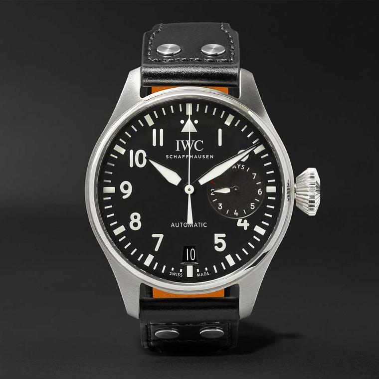 Big Pilot watch in stainless steel