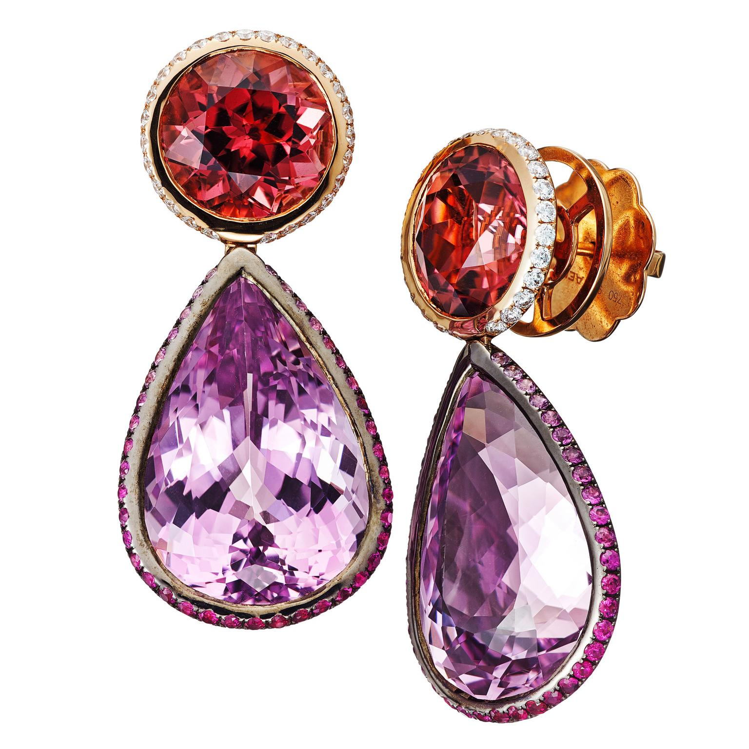 AENEA-Candy-Earrings-Spinel-Kunzite
