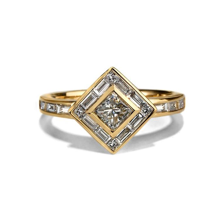 Tomfoolery Métier white diamond ring