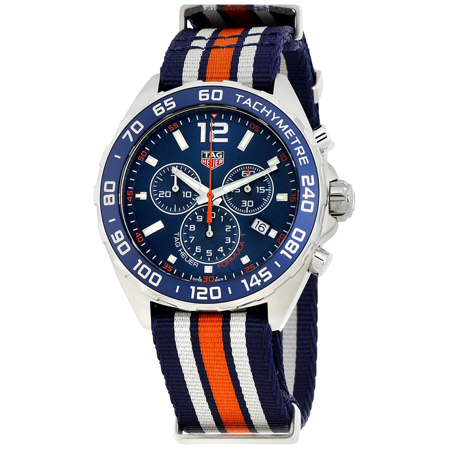 TAG Heuer Formula 1 Blue Chronograph watch