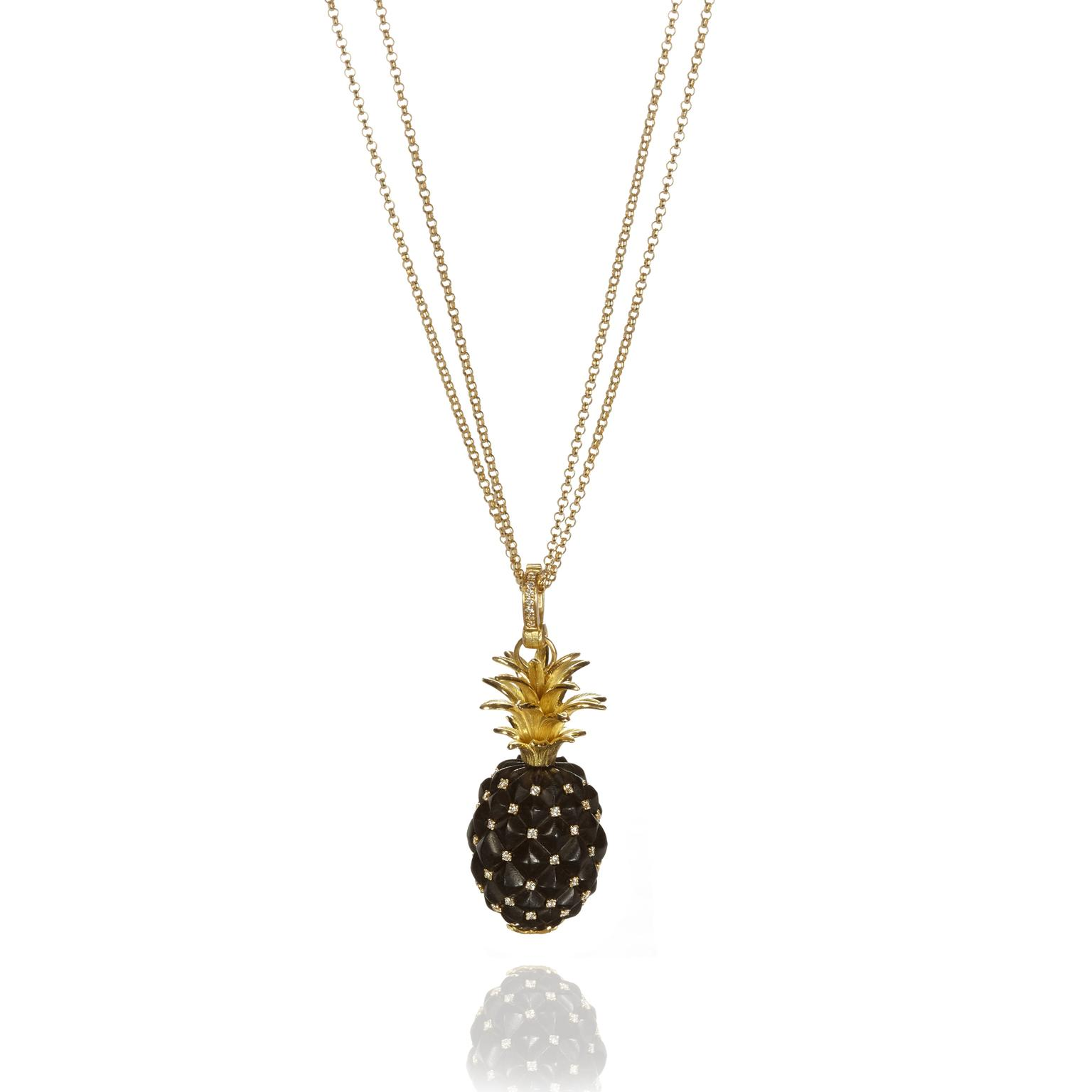 Annoushka spiky pineapple pendant