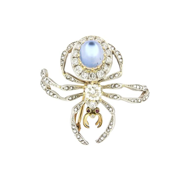 Bentley & Skinner vintage spider brooch