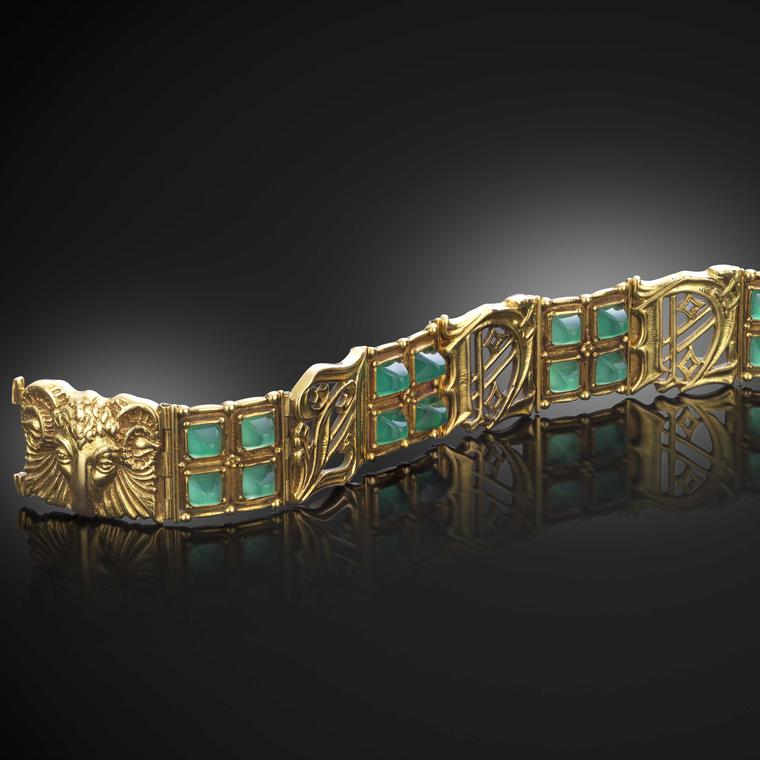 Lot 166 Omar Ramsden Anne bracelet Woolley and Wallis auction £2000 - £3000