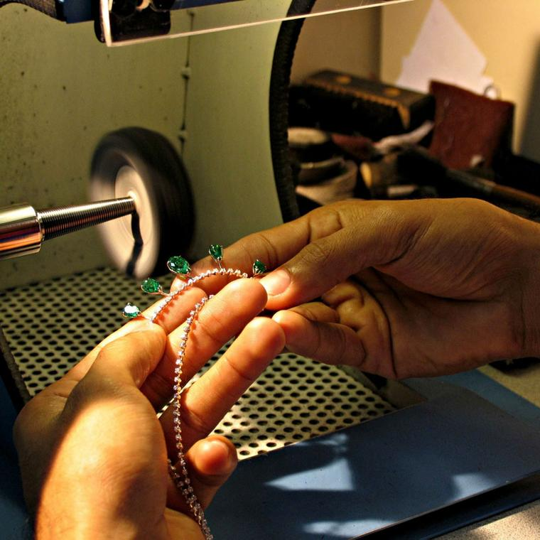 H.Stern jewellery-making