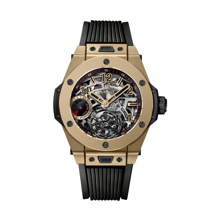 Hublot Big Bang Tourbillon 5-day Power Reserve Full Magic Gold