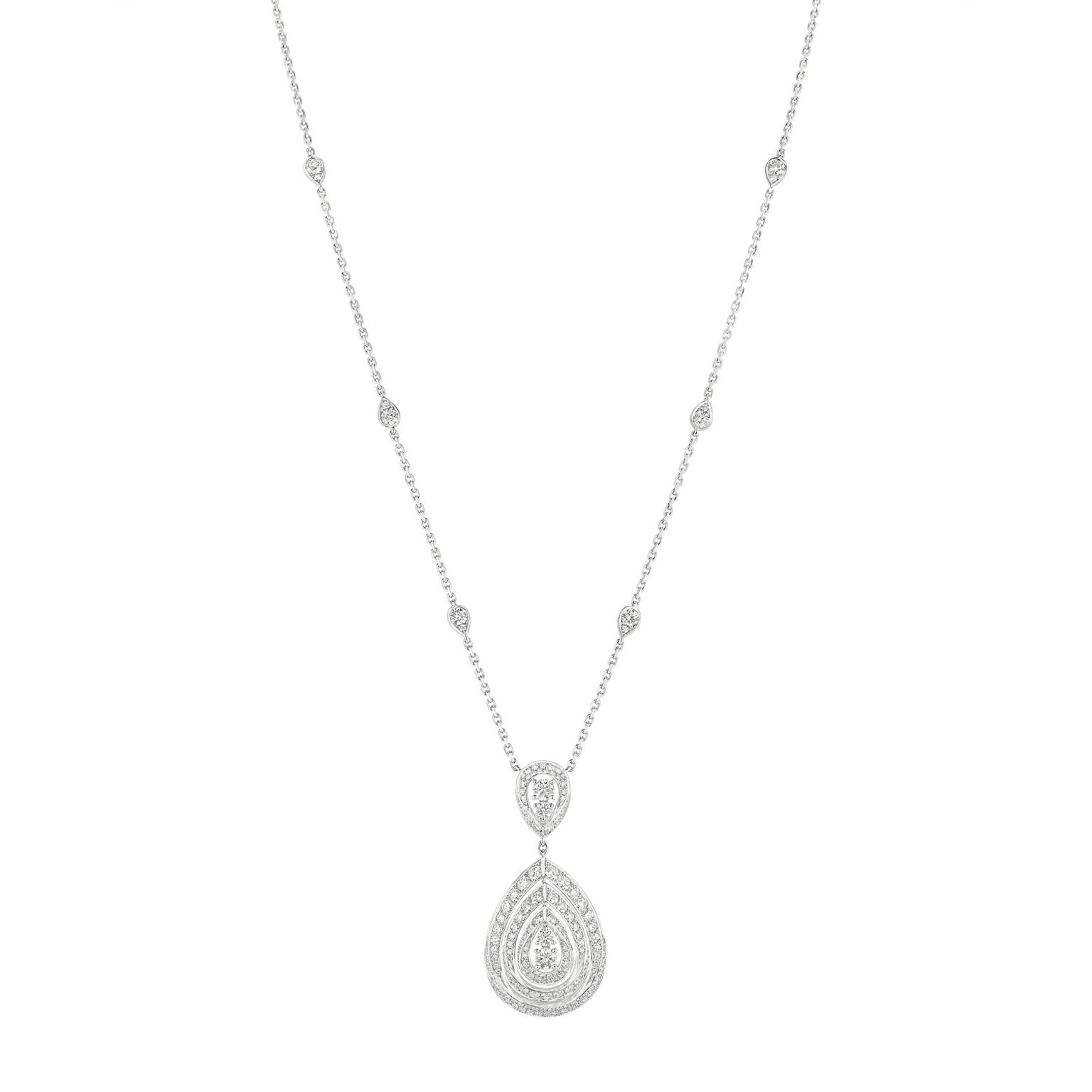 Chaumet Joséphine Rondes de Nuit diamond necklace in white gold